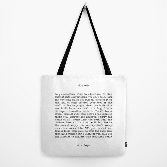 Travel Far and Often Tote Bag