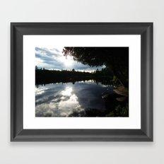 Algonquin Tranquility Framed Art Print