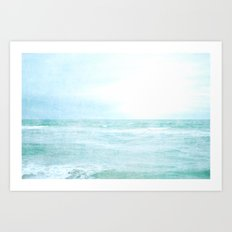 Me and the Sea Art Print