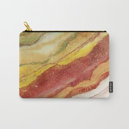 AGATE Inspired Watercolor Abstract 03 Carry-All Pouch