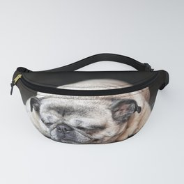 Pooped Out Pug Fanny Pack