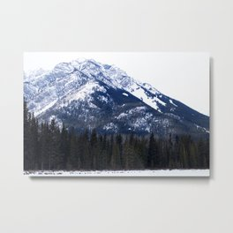 The Vail Of Snow Metal Print