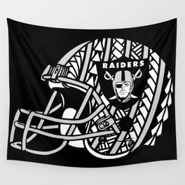 Polynesian Style Raiders Wall Tapestry