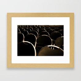 Afterlife Theatre Framed Art Print