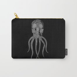OCTOSKULL - WHITE REVERSE Carry-All Pouch