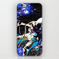 astronaut iPhone & iPod Skins featuring Astronaut  by Saundra Myles