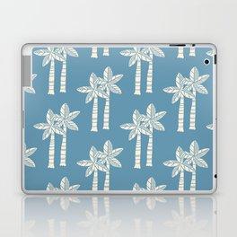 Palm Tree Pattern Blue 22 Laptop & iPad Skin
