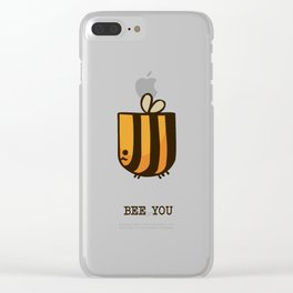 Bee You Clear iPhone Case