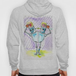 Duobot and the Dastardly Double Dilemma Hoody