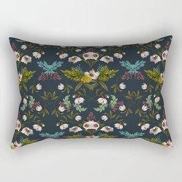 Helleborus Dark Rectangular Pillow