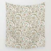 medieval Wall Tapestries featuring Medieval pattern. by Monochrome Lace
