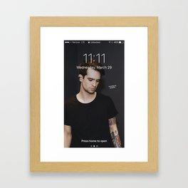 Brendon Urie Framed Art Print