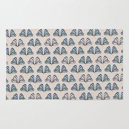 Madam Butterfly Print Rug