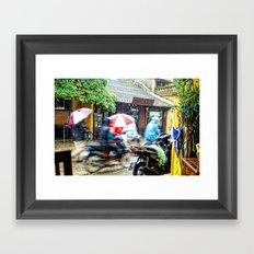 Movement in Hoi An Framed Art Print
