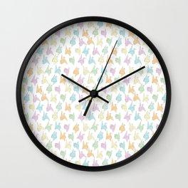 1000 Paper Cranes Wall Clock