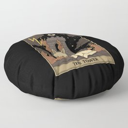 The Tower Floor Pillow