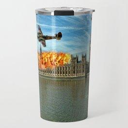 Houses of Parliament London Travel Mug