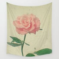 blush Wall Tapestries featuring Blush by Cassia Beck