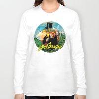 gentleman Long Sleeve T-shirts featuring Gentleman by dogooder