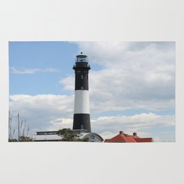 Fire Island Light With Reflection - Long Island Rug