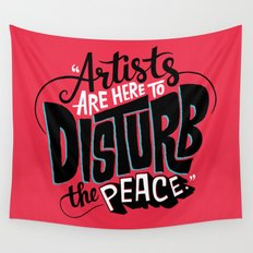 Disturb The Peace Wall Tapestry