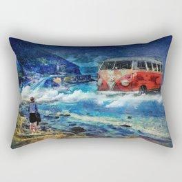 Road trip dream Rectangular Pillow