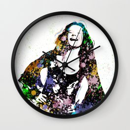 Janis - Piece Of My Heart - Pop Art Wall Clock