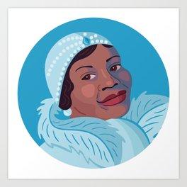 Queer Portrait - Bessie Smith Art Print
