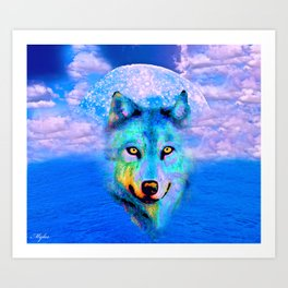 WOLF #2 Art Print