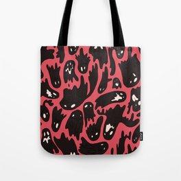 Pink Ghosties Tote Bag