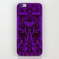 leather iPhone & iPod Skins featuring Leather Man by Pepita Selles