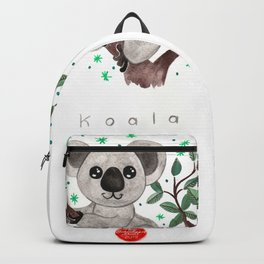 Koala Nursery Illustration Backpack