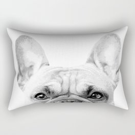 Bruno The French Bulldog Rectangular Pillow
