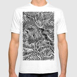 black flow T-shirt