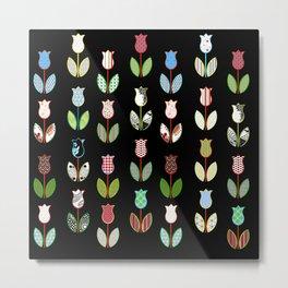Tulips / 02 Metal Print
