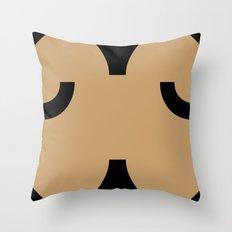 face 5 Throw Pillow