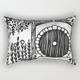 Under Hill Rectangular Pillow