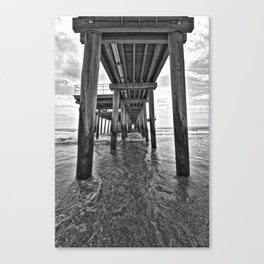 Under the boards Canvas Print