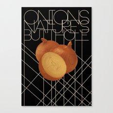 Nature's Butthole Canvas Print