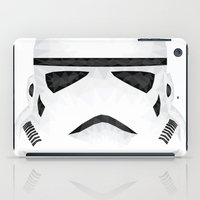 storm trooper iPad Cases featuring Trooper by Charles Dew