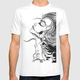 Skull Portrait T-shirt