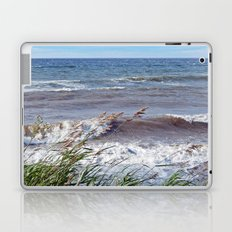Waves Rolling up the Beach Laptop & iPad Skin