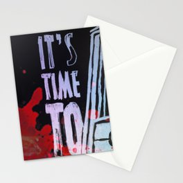 I´ts Time To.. Stationery Cards