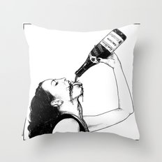 asc 560 - La bouteille (My friend Aloxe) Throw Pillow