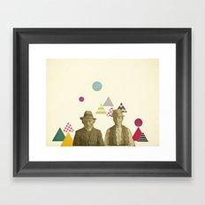 Childhood Sweethearts Framed Art Print