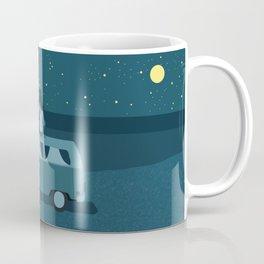Vanlife, Stars, Nursery Decor, Kids Art Coffee Mug