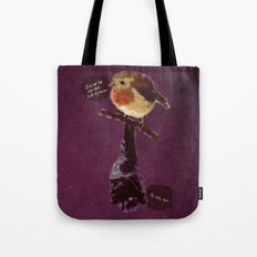 Bat and Robin Tote Bag