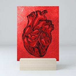 Open Heart, human's most important organ | Cardiology gift Mini Art Print