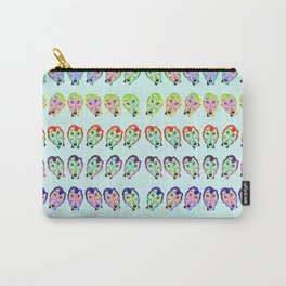 Many Faces (Rainbow) Carry-All Pouch
