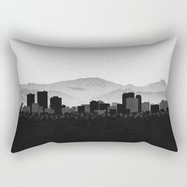 City Skylines: Anchorage Rectangular Pillow